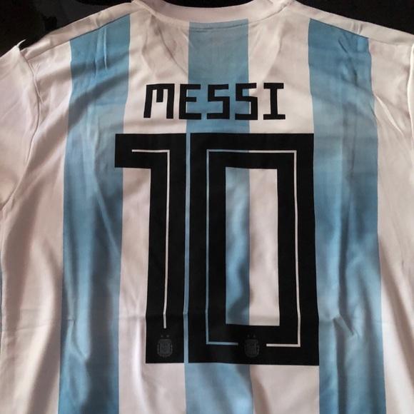 Argentina Home 2018 Jersey  10 Messi 09b498abb194c